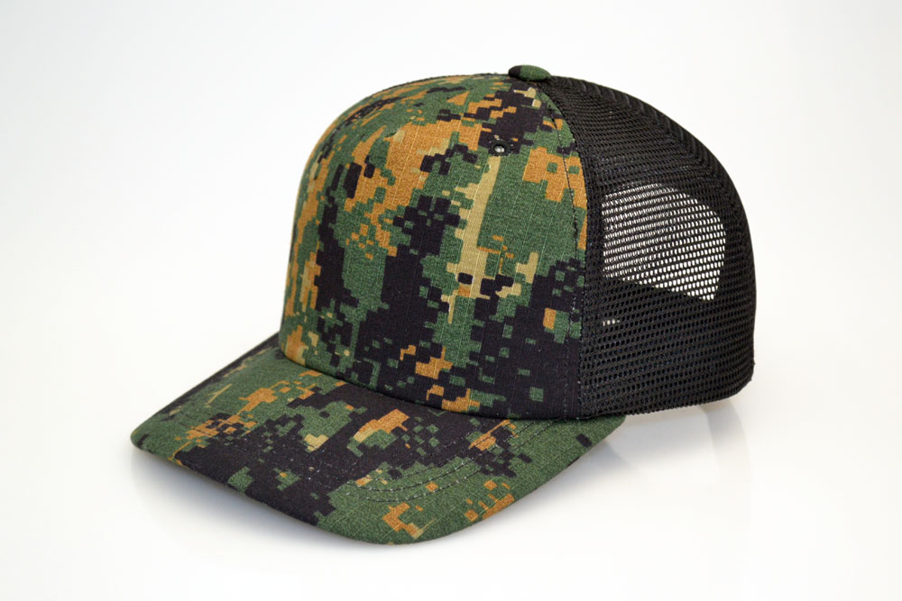Cotton Camo Trucker Hat
