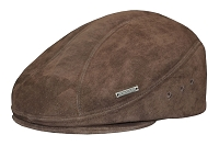 Emstate Suede Leather Ascot Ivy Driver Cap