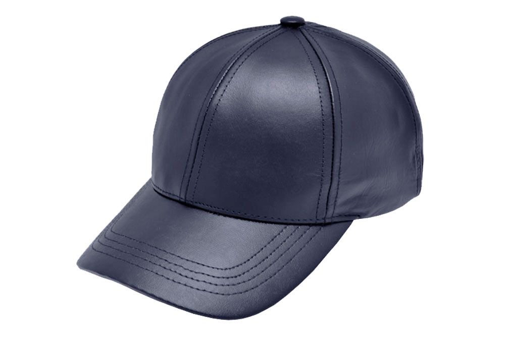 e40a4ab2e06 Classic Leather Baseball Cap Navy