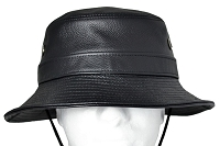 Siena Leather Bucket Hat One Size