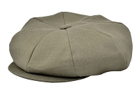 Linen Big Applejack Cap
