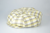 Plaid Linen Big Applejack One Size