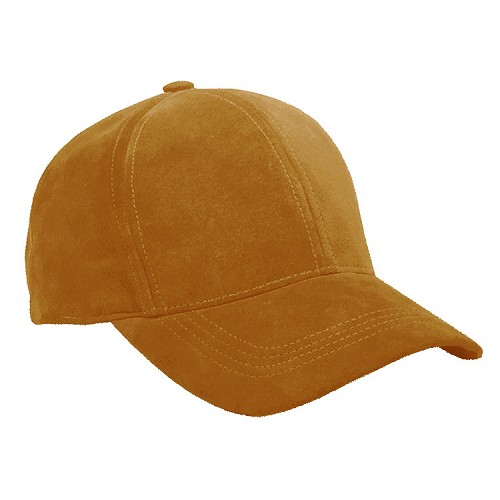 Classic Suede Baseball Cap Light Brown